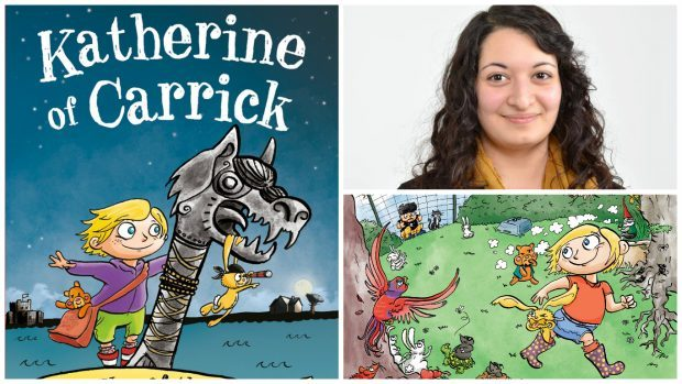 Forres artist Shirin Karbor's drawings will be used to offer a glimpse into the time-travelling adventure Katherine of Carrick.