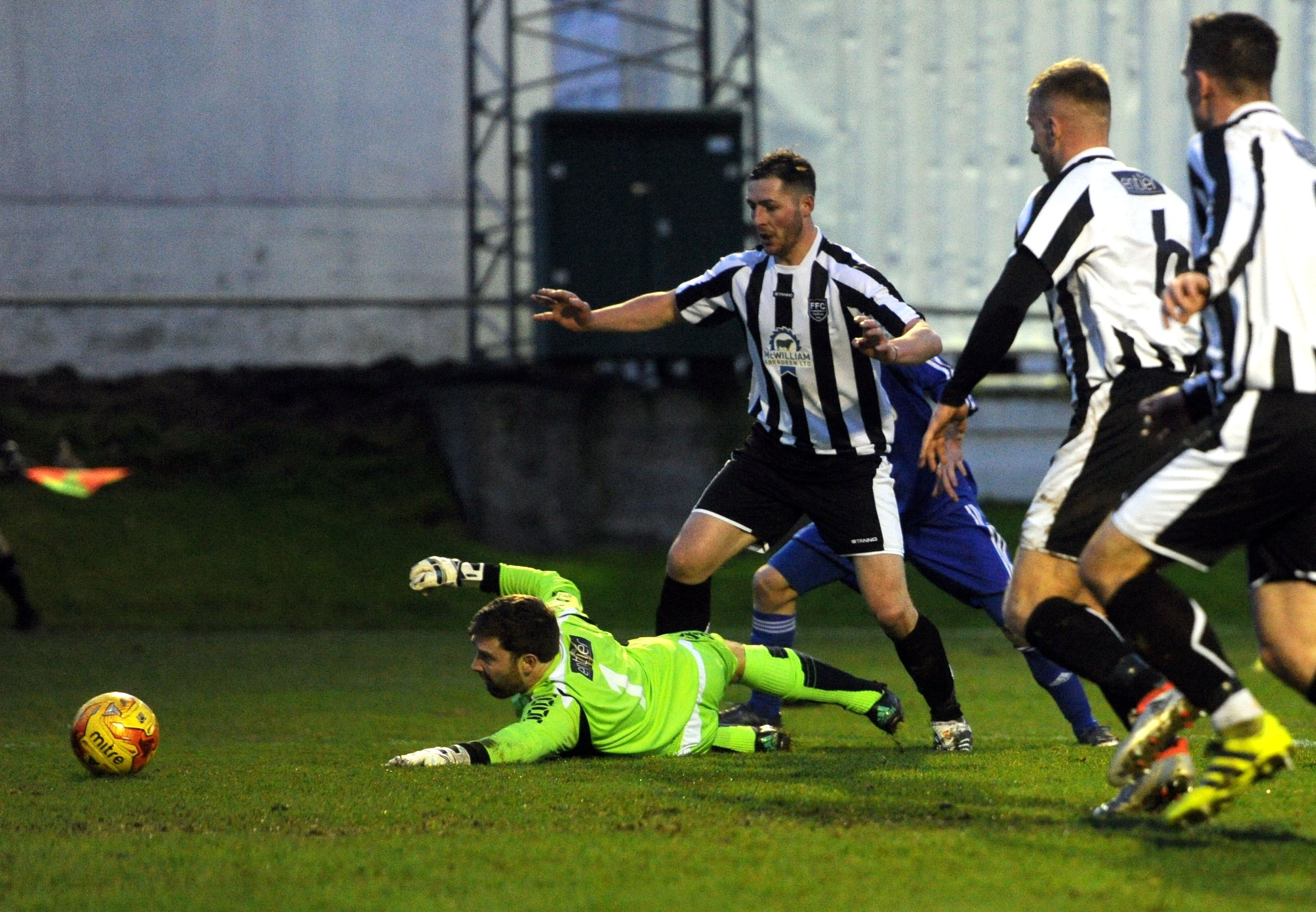 Paul Leask in action for Fraserburgh