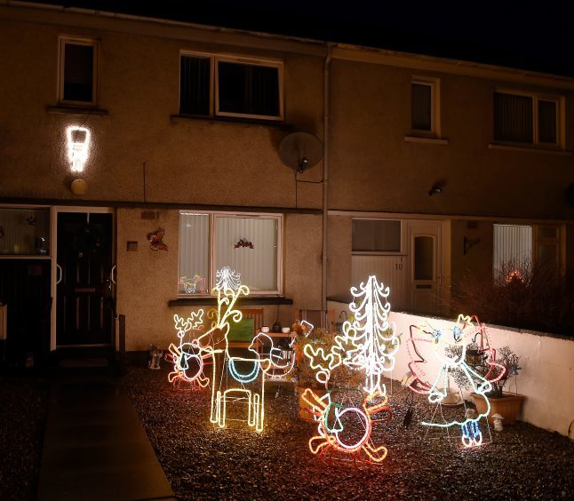 Benula Road, Merkinch, Inverness. Pic by Sandy McCook