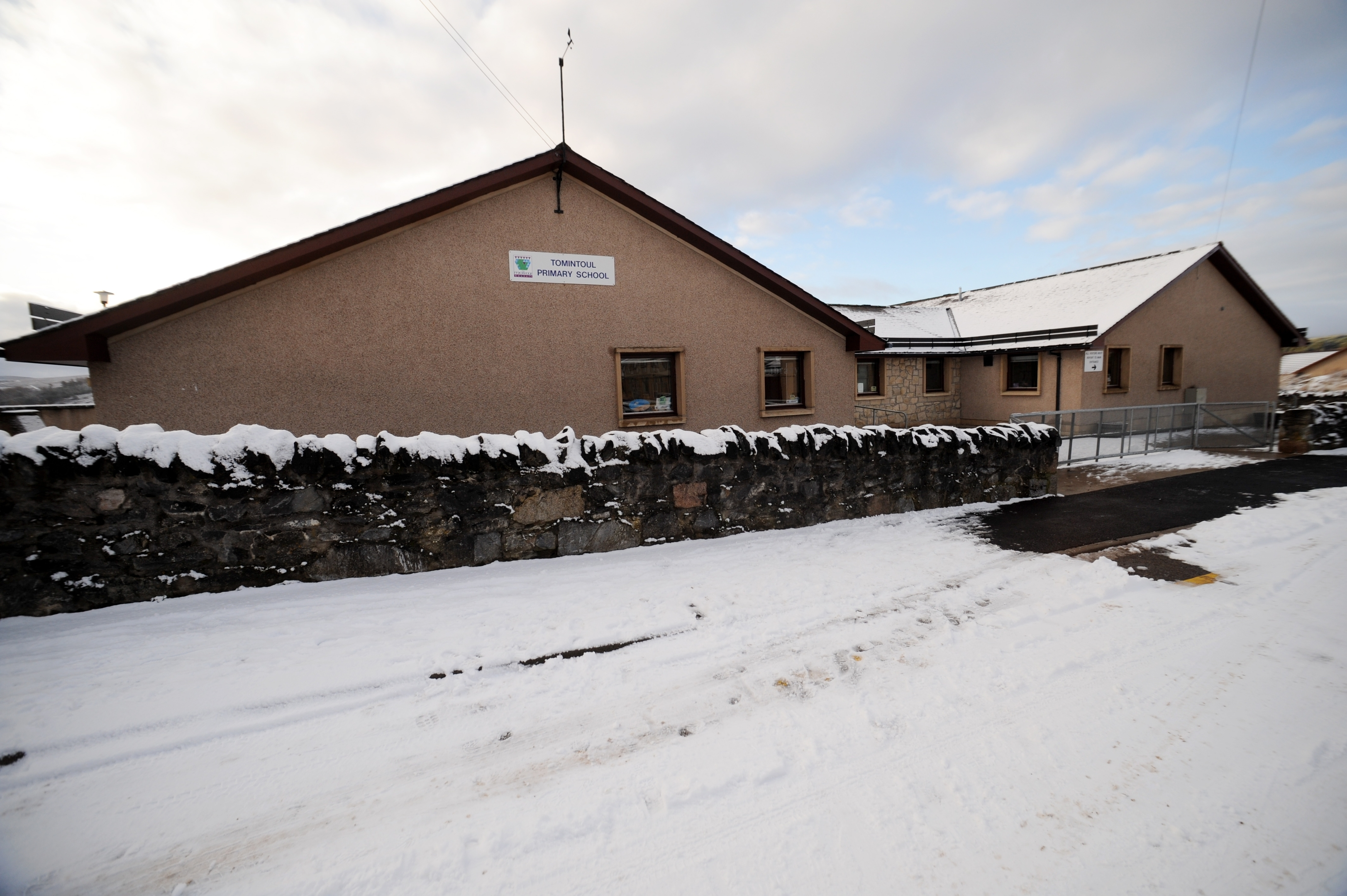 Tomintoul Primary School, Tomintoul.