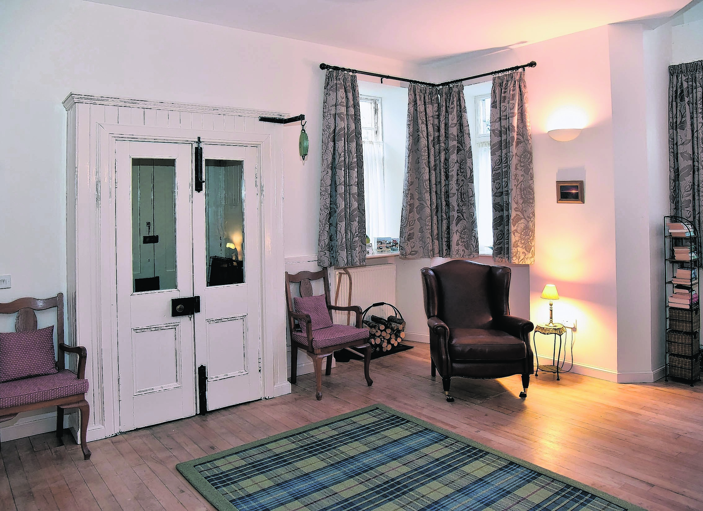 Beachside Cottage and Bothy Golspie. Interior of Cottage. Pic - Phil Downie