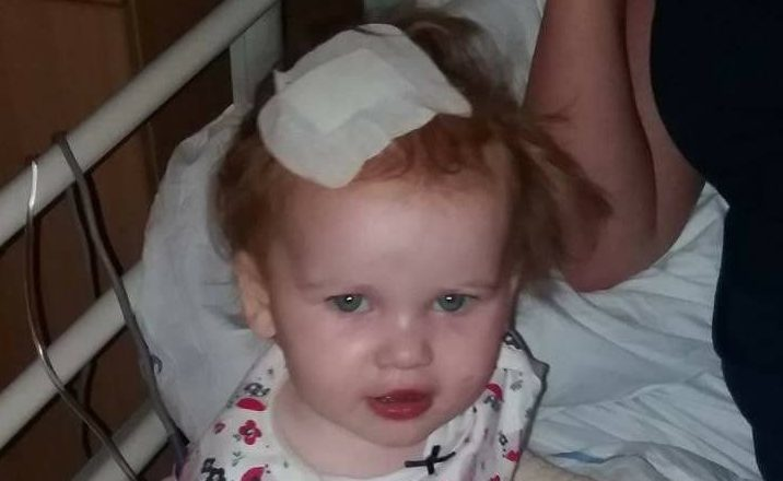 """Sonja Allan said her """"world was turned upside down"""" when she learned that her youngest child Emma had a brain tumour."""