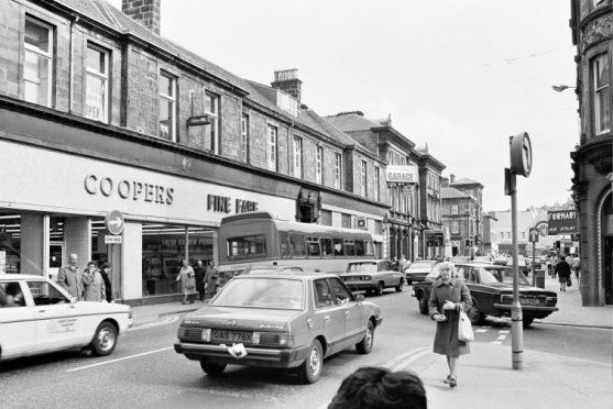 Academy Street in 1983