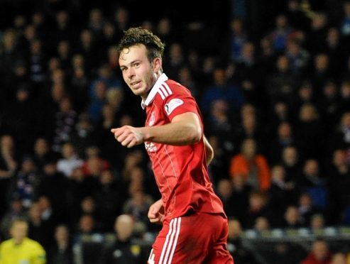 Andrew Considine was named Aberdeen's player of the year.