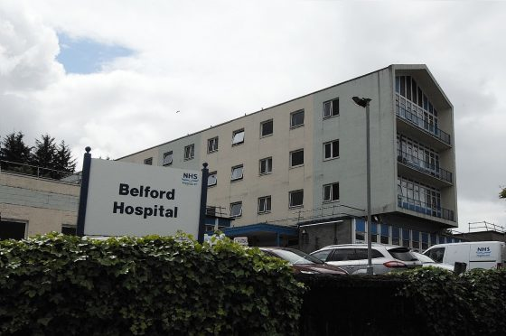 Belford Hospital in Fort William.