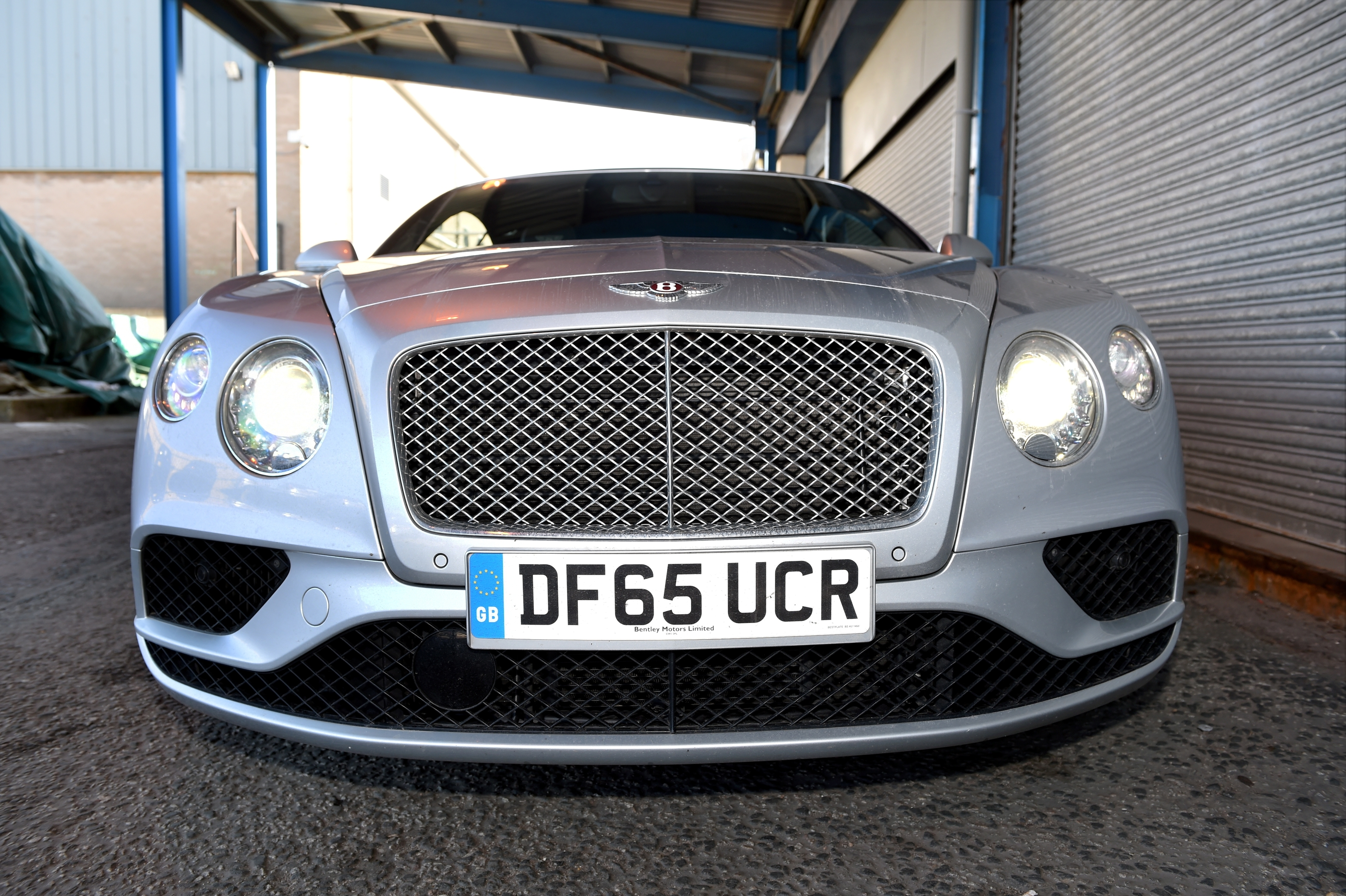 Your Car - Bentley Continental GT. Picture by KEVIN EMSLIE