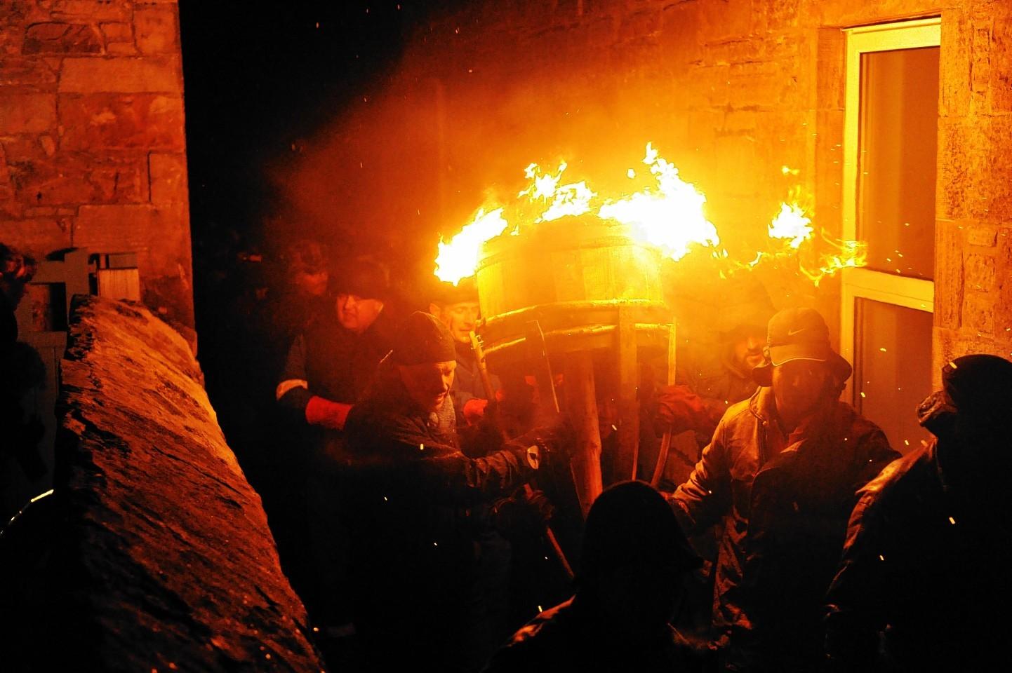 Gordon Lennox captured the scene from last year's festival