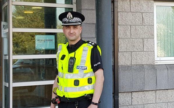 Inspector Darren Bruce