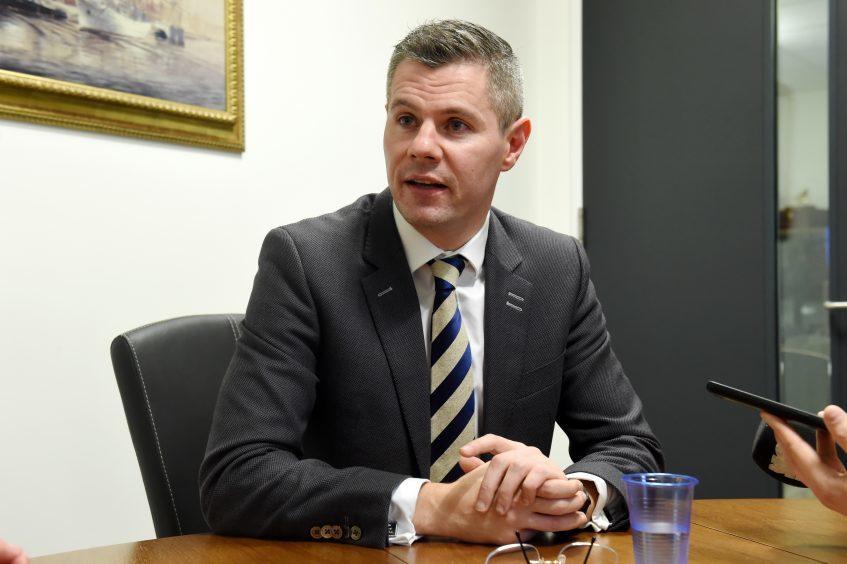 Scottish Government Finance Secretary Derek Mackay