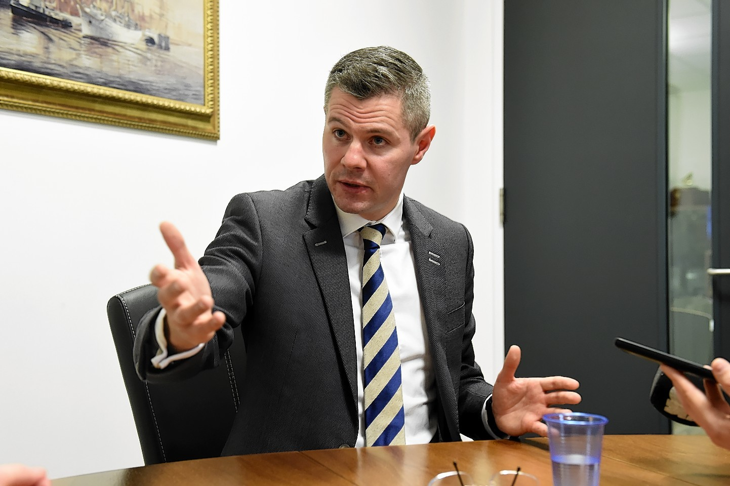 Derek Mackay has said he will work with councils to provide relief