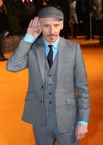 Ewen Bremner arriving at the world premiere of Trainspotting 2 at Cineworld in Edinburgh.