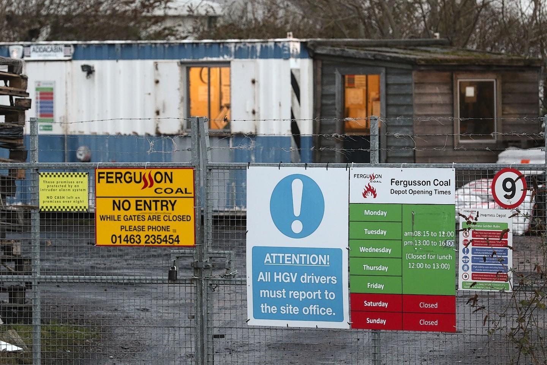 Fergusson Coal where the crime took place