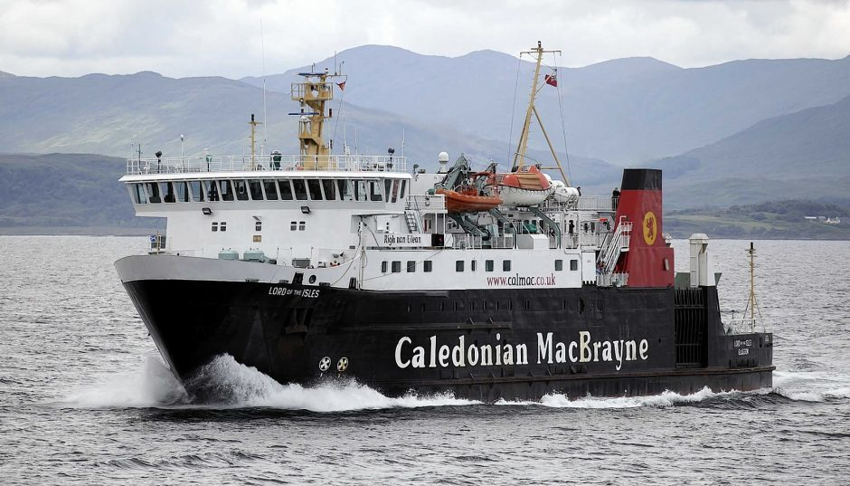 Physical distancing means CalMac vessels are only operating at 17% capacity.