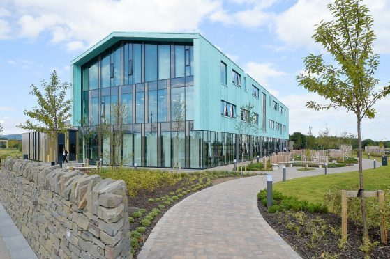 HIE's property portfolio includes its £13million headquarters in Inverness.