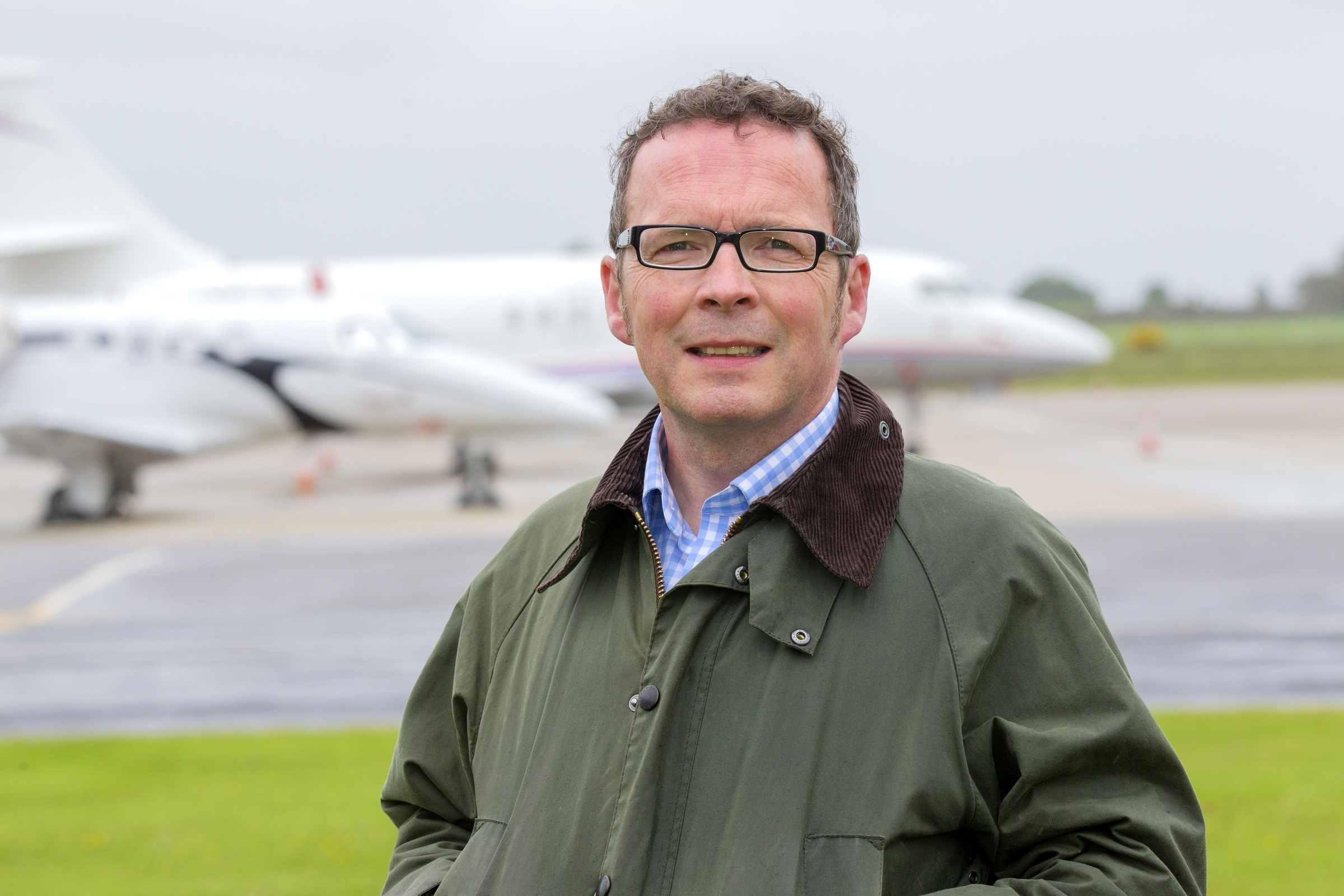 Inglis Lyon, Managing Director, Highlands and Islands Airports Limited (HIAL)