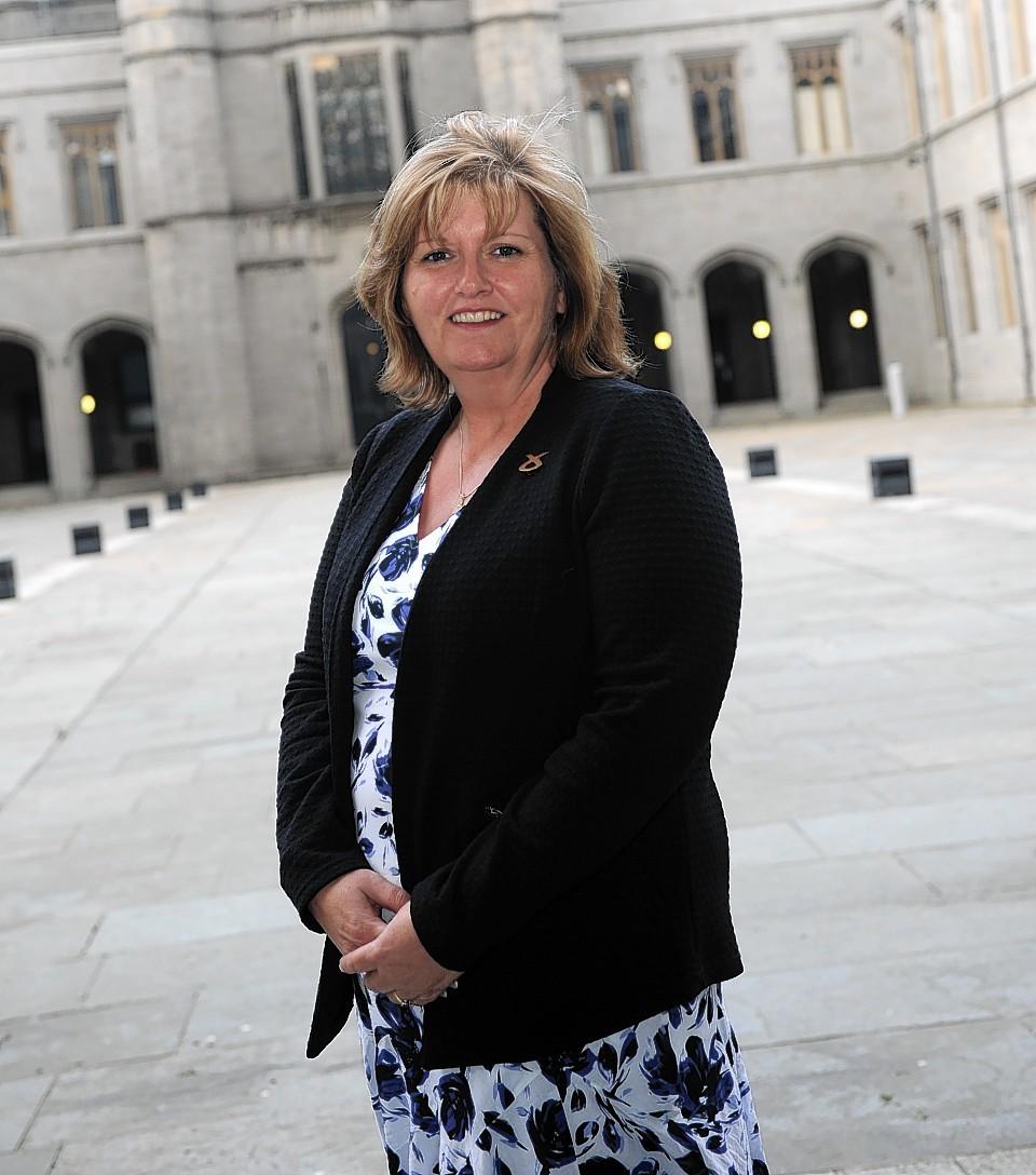 Jackie Dunbar spoke out on the demolition