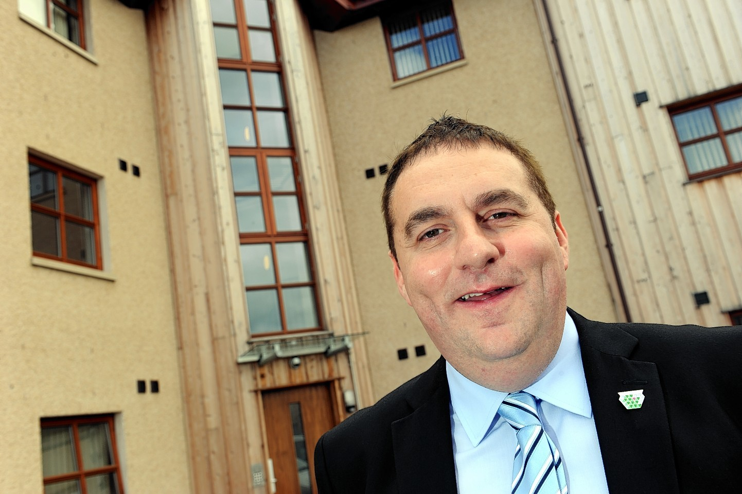 """Moray Council convener James Allan has hopes the region will be """"thriving"""" by 2030."""