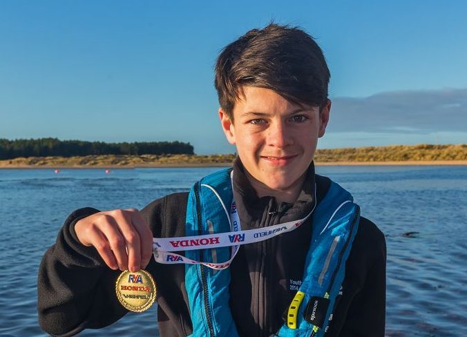 Jamie Paterson has been named as the RYA's young person of the year.