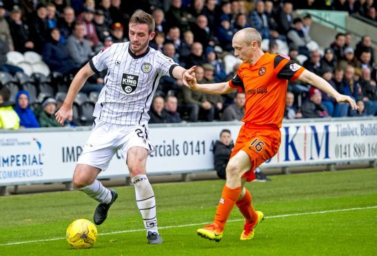 Jason Naismith joined Ross County last month.
