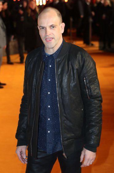Jonny Lee Miller arriving at the world premiere of Trainspotting 2