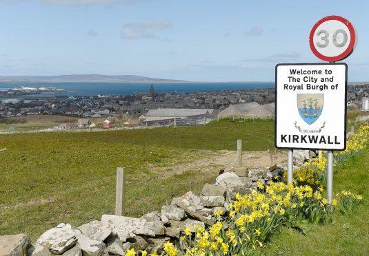 The Orkney capital Kirkwall