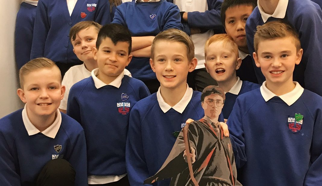 The pupils created Harry Potter characters