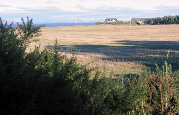 The site proposed for houses and leisure facilities