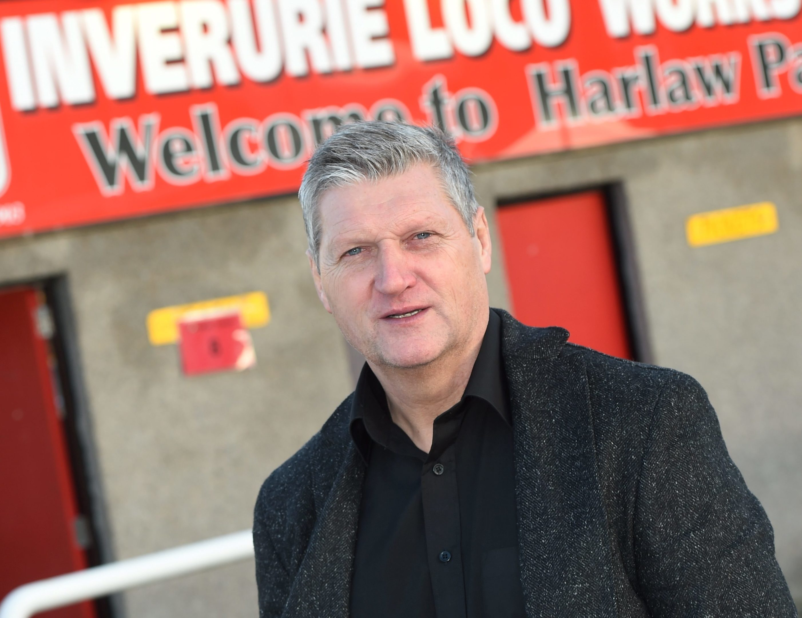 Inverurie Loco's manager Neil Cooper