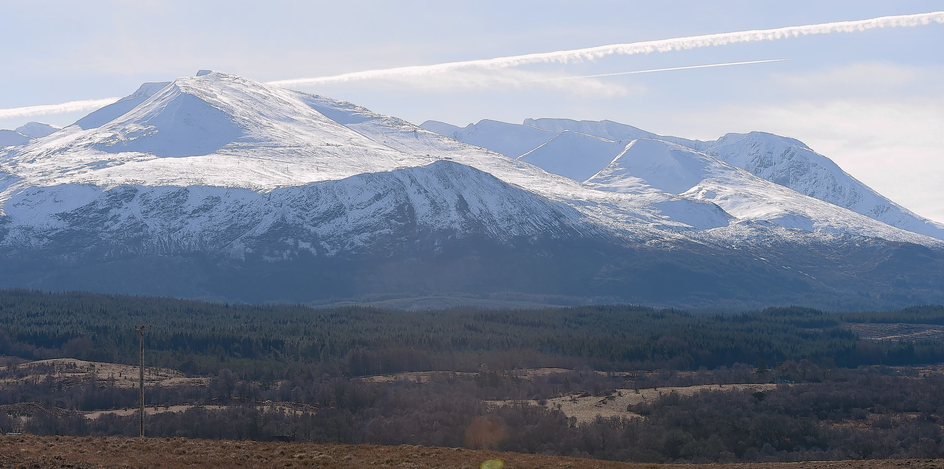 Ben Nevis, from Spean Bridge