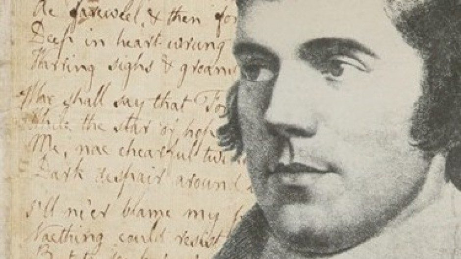 Robert Burns, Scotland's Bard.