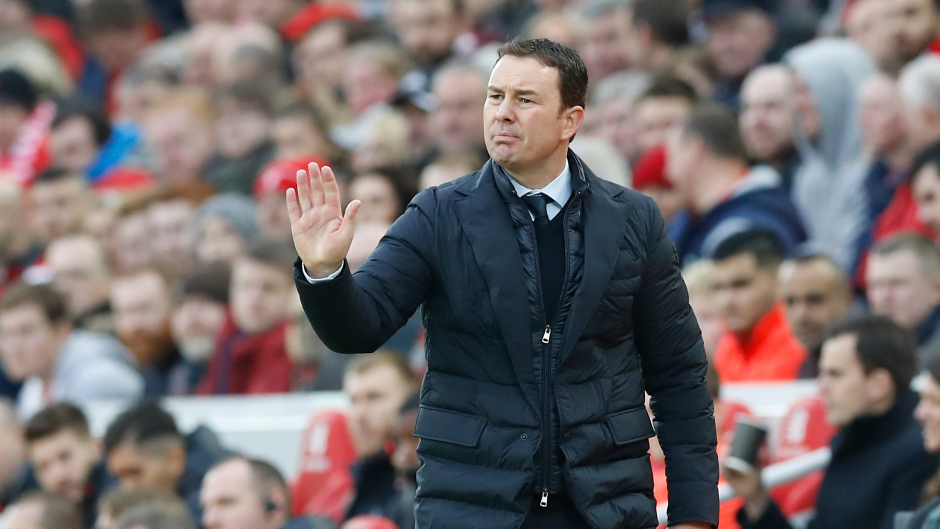 Plymouth manager Derek Adams lauded his side's defensive performance at Anfield