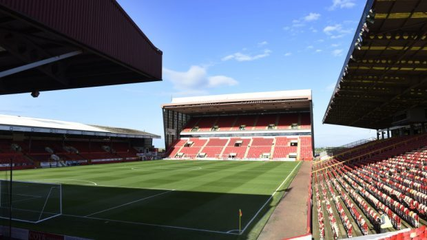Pittodrie was ranked ninth out of Premiership surfaces.