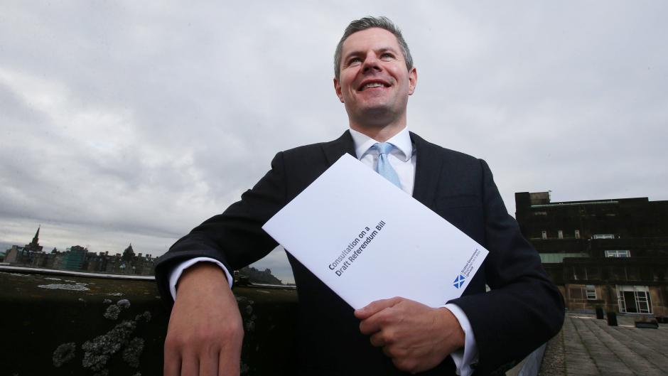 Derek Mackay is facing calls to rethink his proposal.