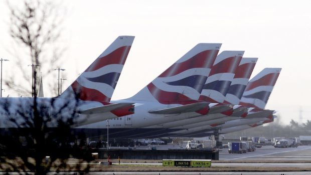 BA's owners reported an increase in passenger traffic in May,