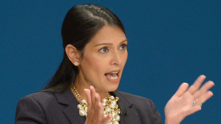 Priti Patel recently announced the programme was under review after facing questions from MPs