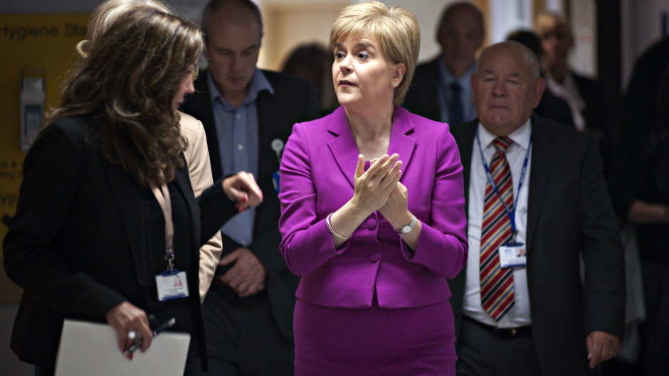 Nicola Sturgeon admitted the 'scale and complexity' of the changes means full implementation would take at least three years