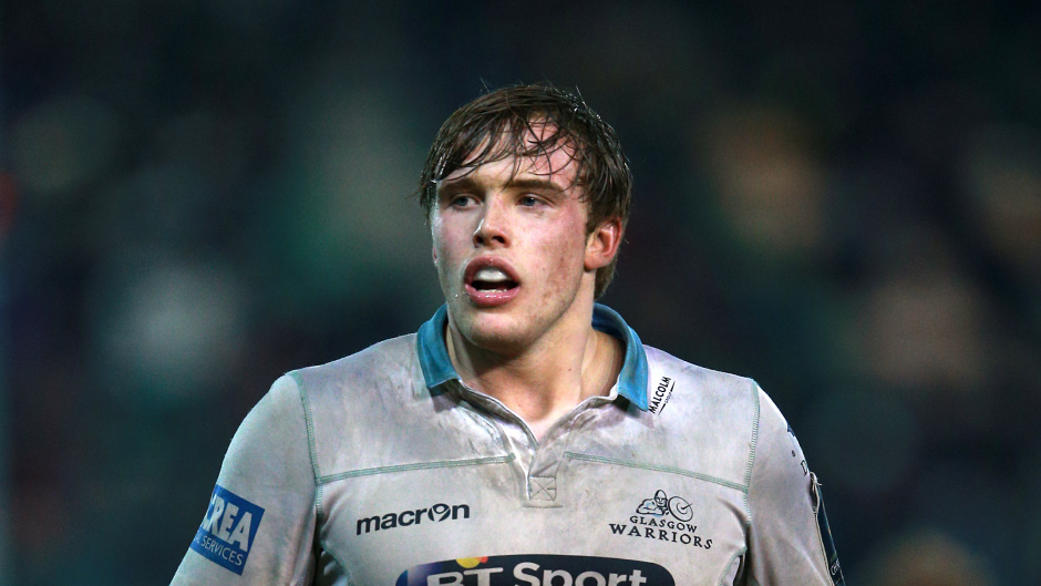 Glasgow captain Jonny Gray
