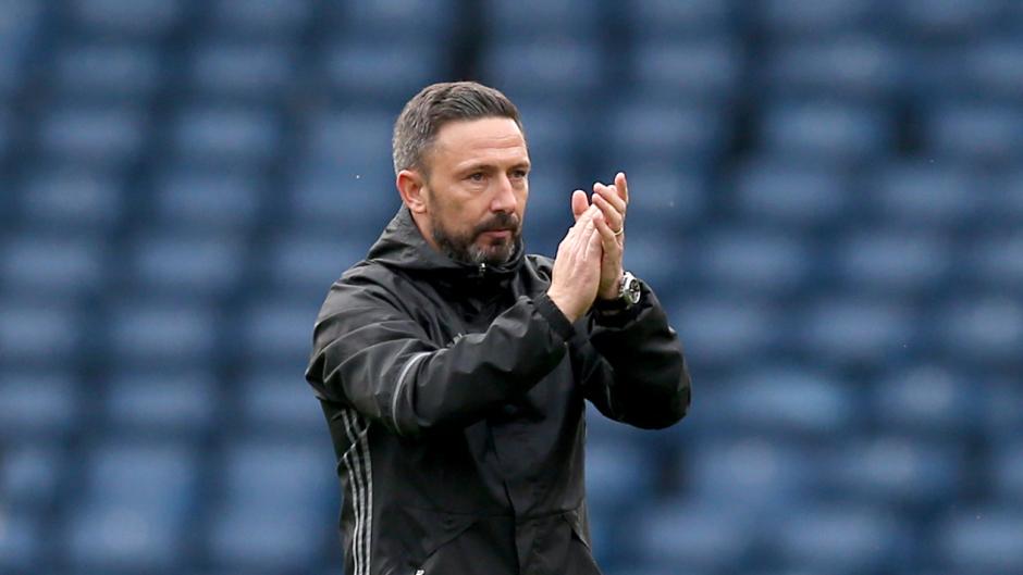 Aberdeen boss Derek McInnes has been linked with the vacant Rangers job.