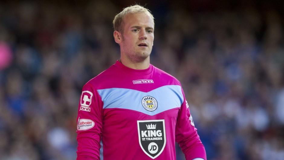 Former St Mirren goalkeeper Mark Ridgers