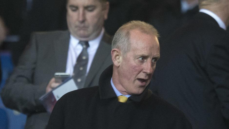 Scotland under-19s manager Billy Stark.