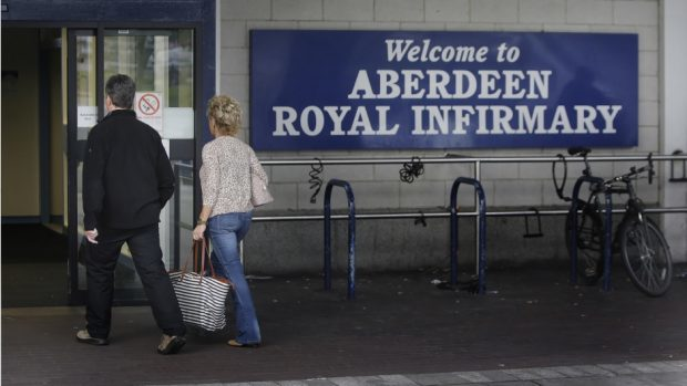 Orkney and Shetland patients often have to travel to Aberdeen Royal Infirmary for treatment