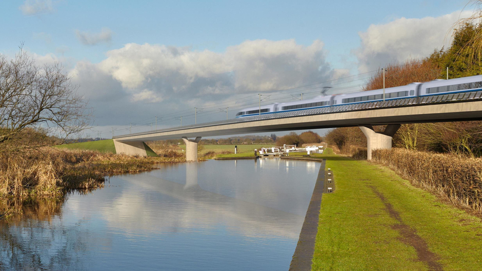 HS2 is estimated to cost around £100billion