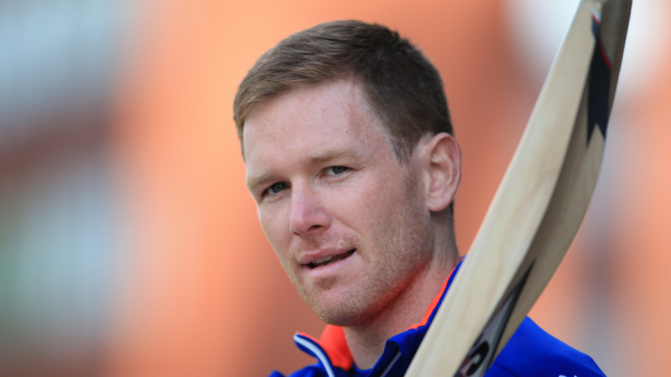 Eoin Morgan has travelled a  long way in his cricket career.