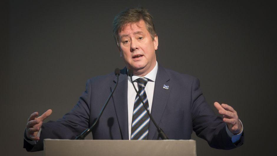 SNP depute leader Keith Brown.