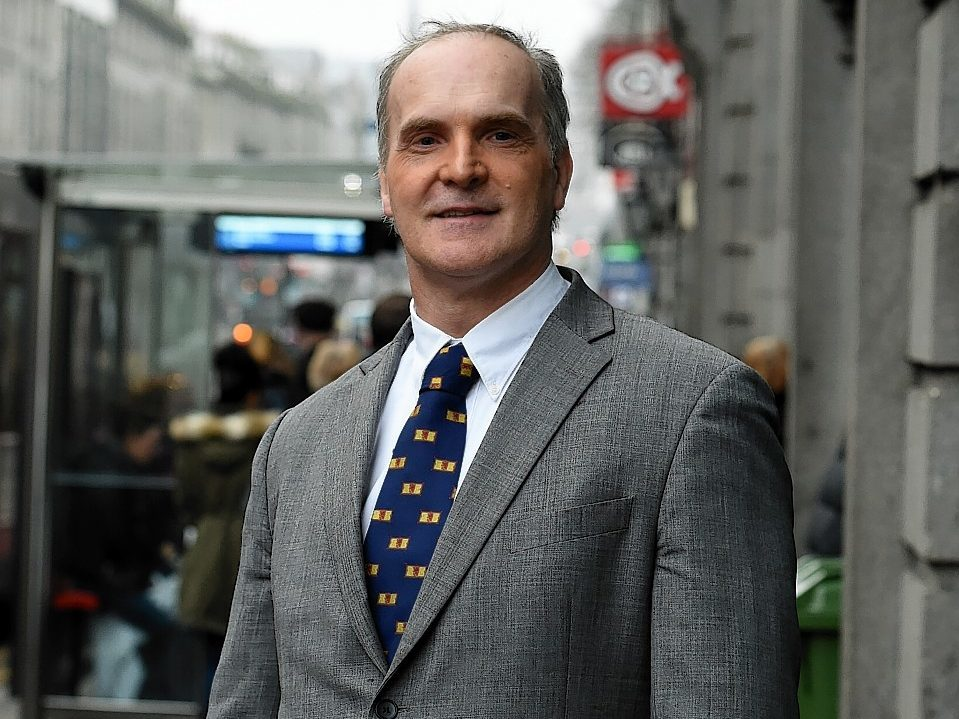 Peter Dow was fined for sending sexually suggestive emails to a city councillor.