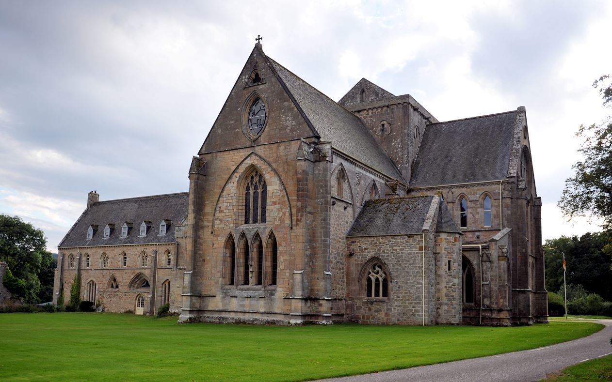 Pluscarden Abbey, outside Elgin