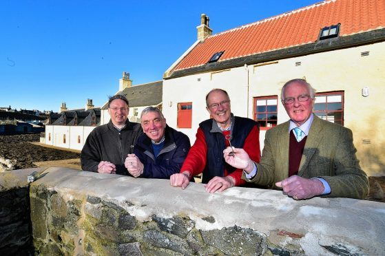 Portoy's Sail Loft has been completely refurbished as part of a two-year project to draw more tourists to the area.
