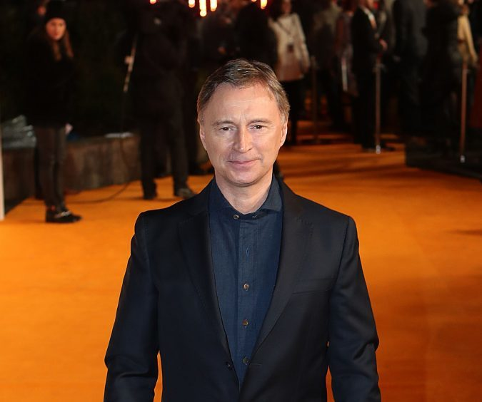 Robert Carlyle arriving at the world premiere of Trainspotting 2