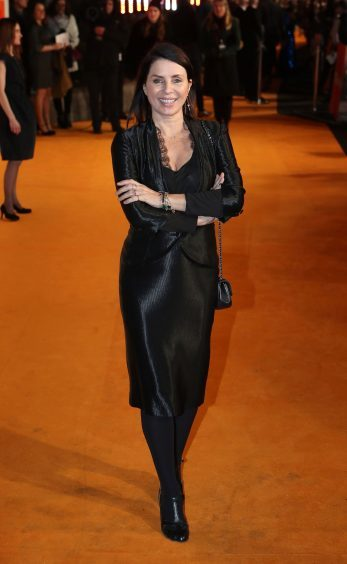 Sadie Frost arriving at the world premiere of Trainspotting 2