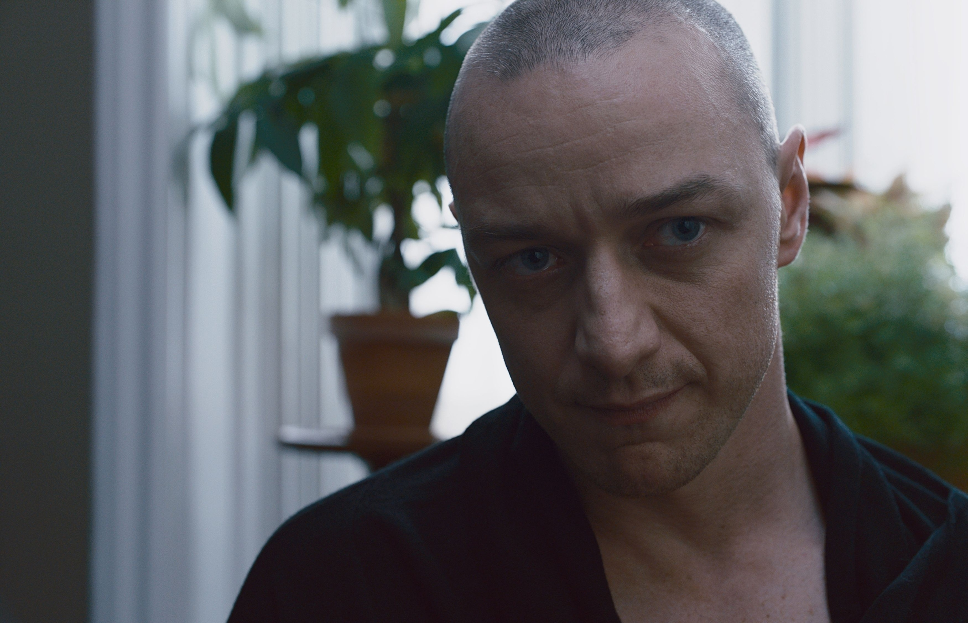 James McAvoy stars in the thriller as Kevin.